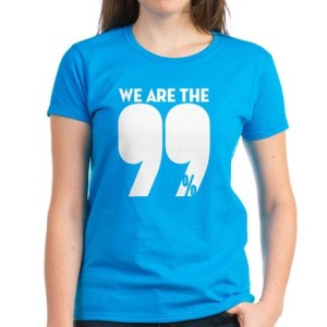 we_are_the_99_percent_womens_blue_tshirt